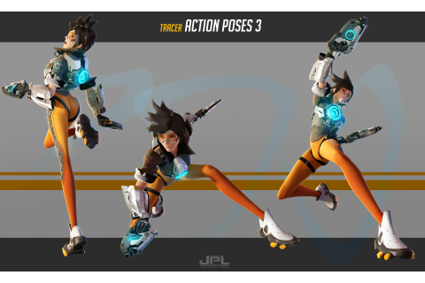 Kevin Lumoindong - OVERWATCH Tracer Action Poses