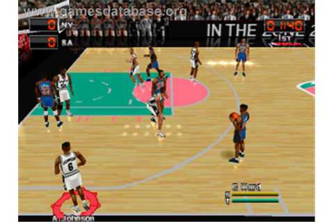 NBA in the Zone 2000 - Sony Playstation - Games Database