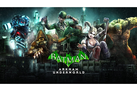 Batman: Arkham Underworld - Official Trailer - YouTube