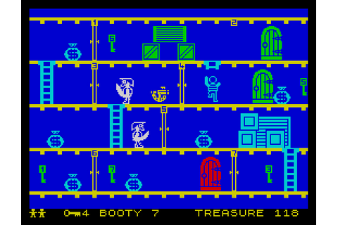 My all time favourite video games: Booty - Sinclair ...
