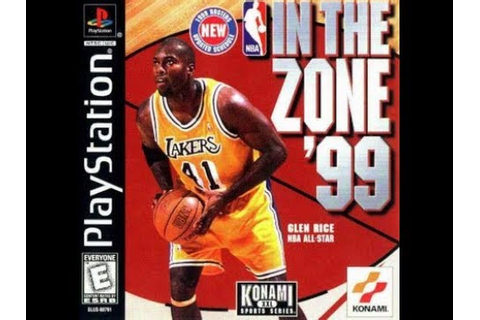 NBA in the Zone '99 (PlayStation) - YouTube
