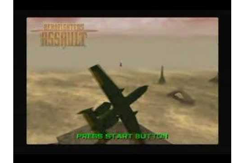 Nintendo 64 Aerofighters Assault Game Intro - YouTube