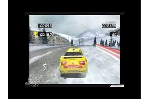 Pro Rally 2002 GameCube Gameplay - Ice is slippery - YouTube
