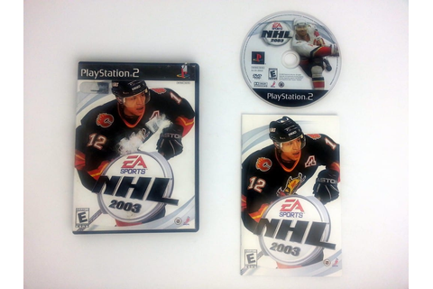 NHL 2003 game for Sony Playstation 2 PS2 -Complete | eBay