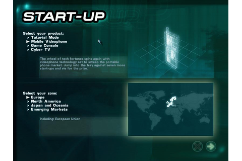 Start-Up Download (2000 Strategy Game)