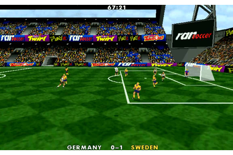 Funny bugs and weird scenes from Actua Soccer 1996 - YouTube