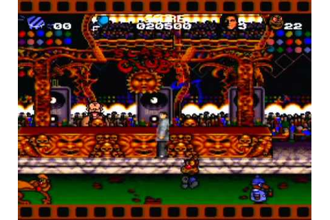 Cool World Game Sample - SNES/SFC - YouTube