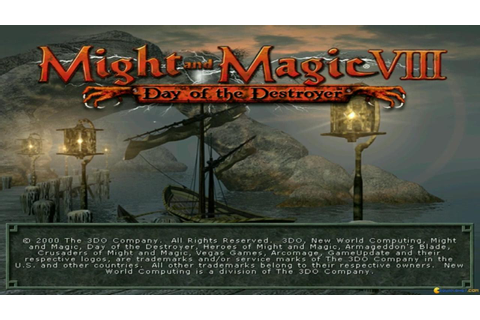 Might and Magic 8: Day of the Destroyer gameplay (PC Game ...