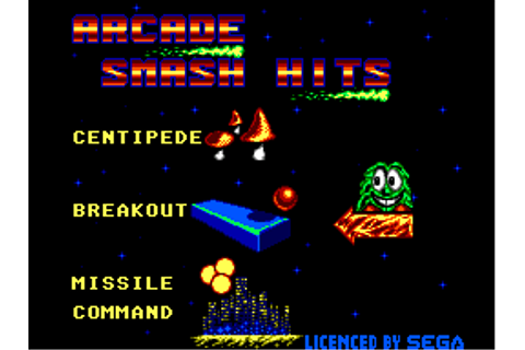 Arcade Smash Hits - Games - SMS Power!