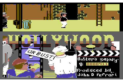 Hollywood or Bust (1986) by Mastertronic C64 game