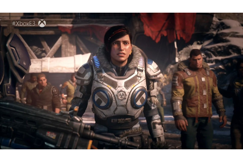 VIDEO GAMES: Check Out New E3 Trailers For GEARS 5 ...