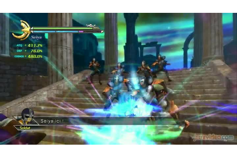 Gameplay Saint Seiya : Les Chevaliers du Zodiaque : La ...