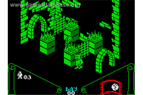 Knight Lore - Sinclair ZX Spectrum - Games Database