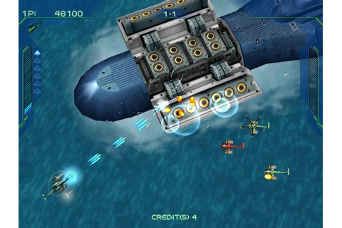 Zero Gunner 2 (2001) by Psikyo Dreamcast game