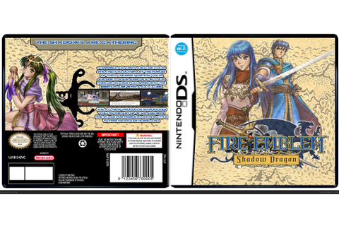 Fire Emblem: Shadow Dragon Nintendo DS Box Art Cover by Syce16