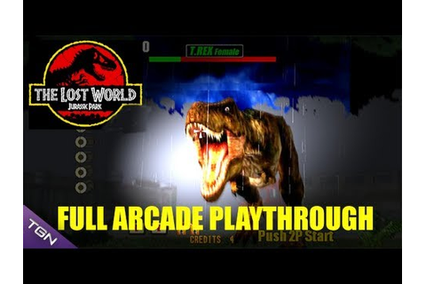 The Lost World: Jurassic Park Arcade Game - Full ...