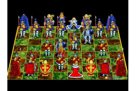 Battle Chess (MPC version) gameplay (PC Game, 1992) - YouTube