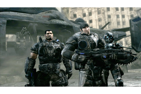 Gears of War 1 PC - Intro & Mission 1 Gameplay HD - YouTube