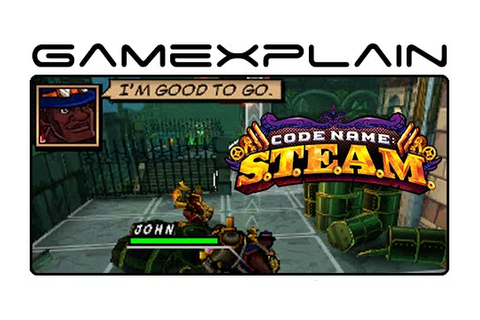 Code Name S.T.E.A.M. Demo - Game & Watch - YouTube