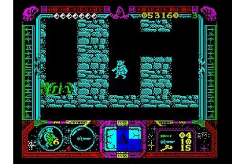 ZX Spectrum game Soldier of Fortune 2/3 - YouTube