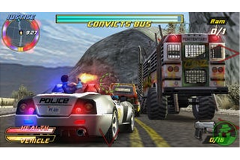 Pursuit Force - PlayStation Portable - IGN