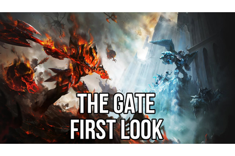 The Gate (Free CCG/RTS Game): Watcha Playin'? Gameplay ...