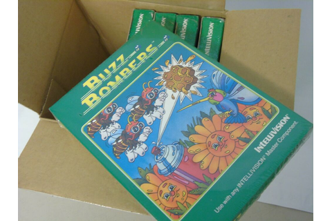 Brand New Sealed Intellivision Buzz Bombers Video Game ...