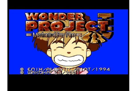 SNES Wonder Project J: Machine Boy Pino (JP Kikai no ...