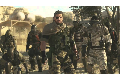 Metal Gear Online Trailer + Kiefer Sutherland & Hideo ...