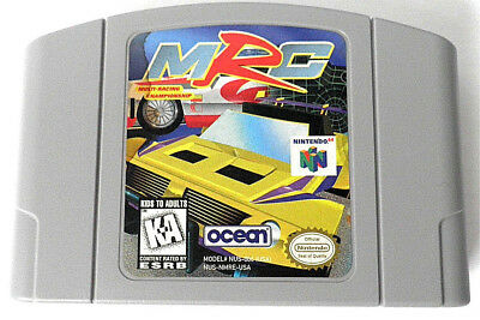 MRC: MULTI-RACING CHAMPIONSHIP NINTENDO 64 GAME CARTRIDGE ...