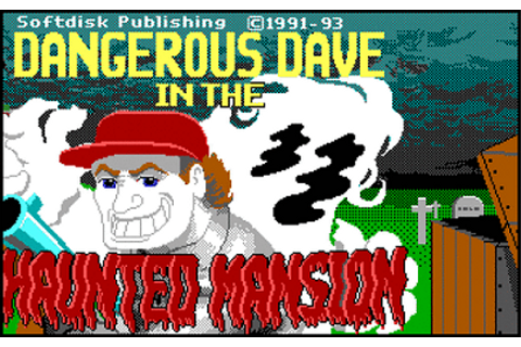 Dangerous Dave In the Haunted Mansion | Games RA is a place to play ...
