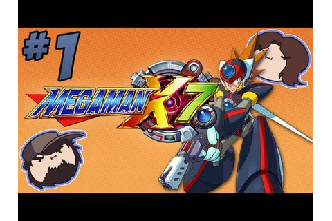 Mega Man X7: Axl From a Rose - PART 1 - Game Grumps - YouTube