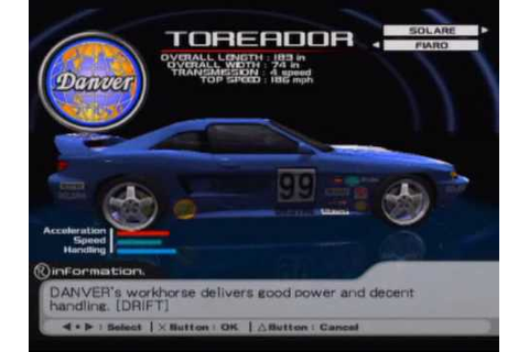Ridge Racer V Game Sample - Playstation 2 - YouTube