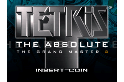 Tetris The Absolute: The Grand Master 2 arcade video game ...
