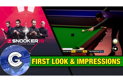 IT'S FINALLY HERE! | Snooker 19 First Look (PS4/Xbox One ...