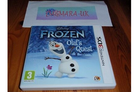 disney frozen game olafs quest 3ds • £3.99 - PicClick UK