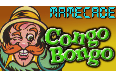 Congo Bongo Arcade Game Review MAME - MAMECADE - YouTube