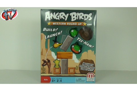 Angry Birds Western Round-Up Game Toy Review Unboxing ...