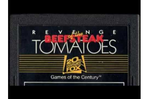 Weird Video Games - Revenge of the Beefsteak Tomatoes ...