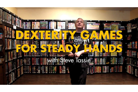 Dexterity Games for Steady Hands - YouTube