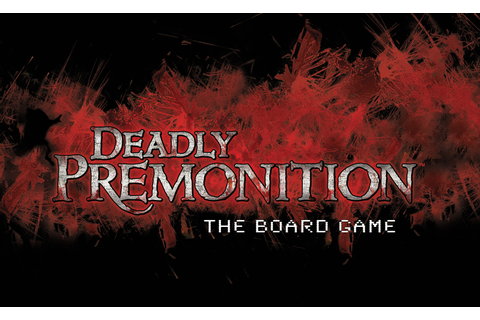 DEADLY PREMONITION Cult Classic Video Game Coming to a ...