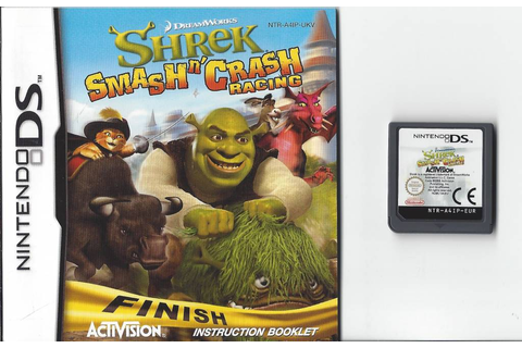 Shrek Smash 'n crash Racing for Nintendo DS NDS - Passion ...
