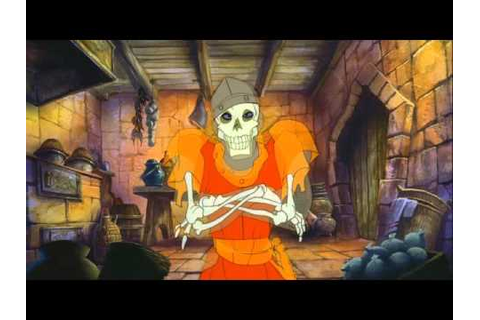 Dragon's Lair - Every Game Over Scenes - YouTube