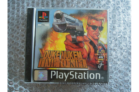 DUKE NUKEM Time to Kill complet sur PS1 - Link to the past