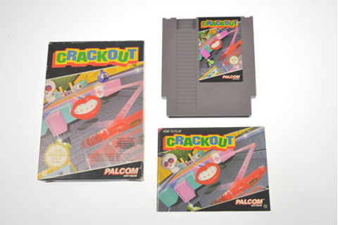 Crackout ⭐ Nintendo [NES] Game [Compleet ...