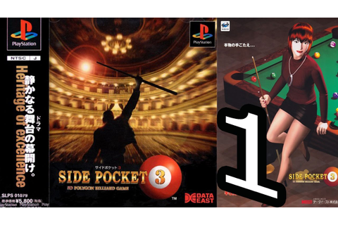SIDE POCKET 3: Resident Evil Pool Game - Part1 - YouTube