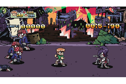 DLC delayed for Scott Pilgrim vs. The World