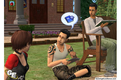 The Sims 2 University Review - GamingExcellence