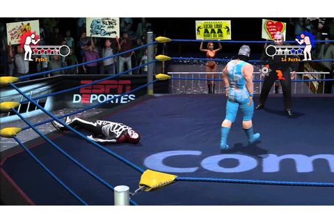 Lucha Libre AAA Heroes del Ring Gameplay: Fr0sT Singles ...