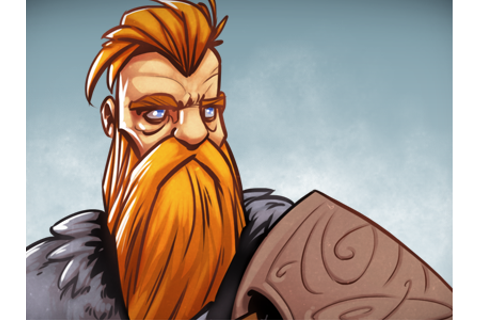 Erik the Red by DÓRI on Dribbble